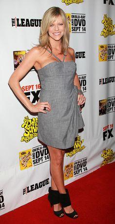 Kaitlin Olson Medium Straight Cut with Bangs