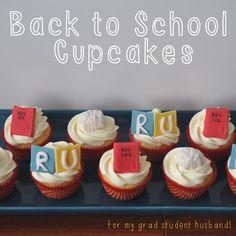 Sew Lah Tea Dough: Back to School Cupcakes ~ PhD Life!