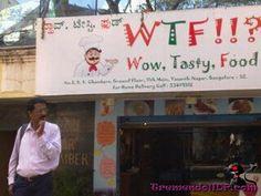 funni sign, funni stuff, foods, tasti food, de restaurant, wtf tasti, india, dog, aka wtf