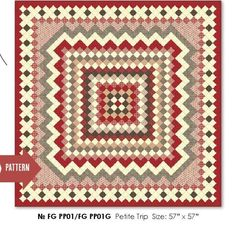 Can't wait to make this quilt from French General