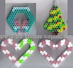 Google Image Result for http://2.bp.blogspot.com/_z7QgOmrD8cQ/SsyYwg8xH0I/AAAAAAAAAcY/1t6jKDRJKfs/s400/perler-XmasHeartsTree%2526Wreath-watermarked.jpg