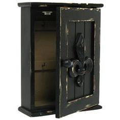 Key Box with Fluer-de-lis