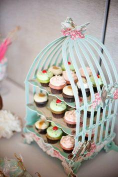 cupcake displays, birdcag cupcak, birdcage cupcake stand, happy birthdays, cupcake stands
