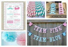 Haute Chocolate - Calgary Party Styling and Custom Party Decor: Gender Reveal Party Ideas