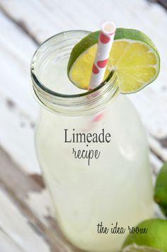 Limeade Recipe | theidearoom.net