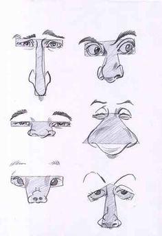 Как рисовать карикатуры с людей