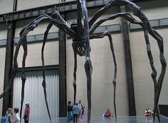 Louise Bourgeois Spider at the Tate Modern