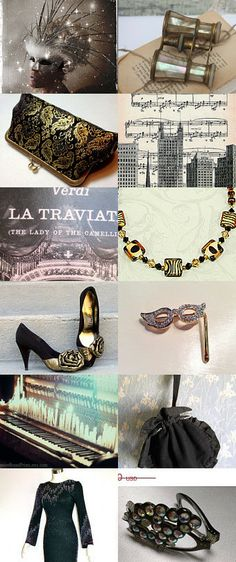 2014 New Year's Eve At The Opera by Marilyn on Etsy--Pinned with TreasuryPin.com If you love Opera I hope that you will enjoy viewing this Treasury :)