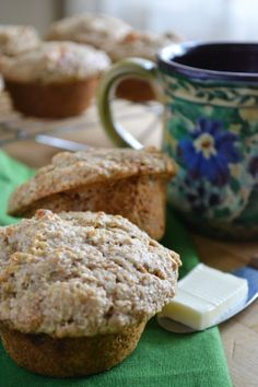 The view from Great Island: Mixed Fruit and Nut Buttermilk Bran Muffins