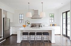 ashley goforth, kitchen interior, design kitchen, bar stools, modern kitchens, kitchen layouts, kitchen islands, kitchen designs, counter stools