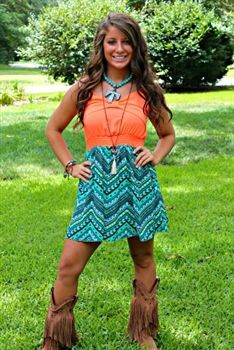Forever and For Always Dress in Coral $46.99! #SouthernFriedChics
