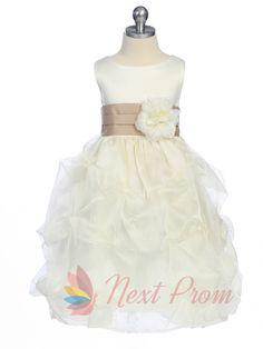 white flower girl dress with black sash,flower girl dress tulle,flower girl dress white $62.00