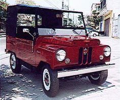 1952 Crosley Jeep Super / Image sent to a Crosley Enthusiast gathering from Brazil