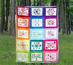 patchwork, flickr, rainbow quilt, rainbows, quilt inspir, beauti quilt, maureencracknel, quilts, bottl rainbow