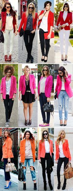Fashion Killer: Blazer colorido!