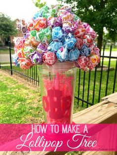 How to Make a Lollipop Tree | Play 2 Learn with Sarah
