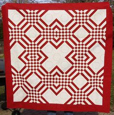 AM Sewing: Red and white quilts