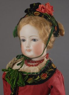 """Florence- 1870′s French Fashion Doll.""  remember seeing this doll in Carmel, her size surprised me -- she's quite big"