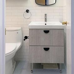 Ikea Godmorgon Bathroom Vanity | Replacement Cabinet Doors – Semihandmade
