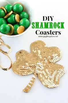 DIY Gold Shamrock Co