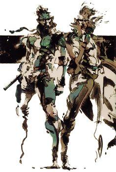 Metal Gear Solid - Solid & Liquid Snake