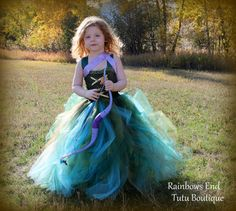 Merida the Brave Tutu Dress by whererainbowsend1