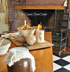 The Country Farm Home: Giving Thanks in Shaker Style