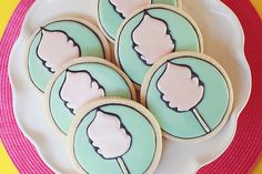 cotton candy cookies by @Sweetopia ~ Marian Poirier
