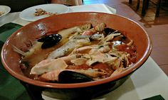 Brodetto- traditional fish soup from Vasto, #Abruzzo