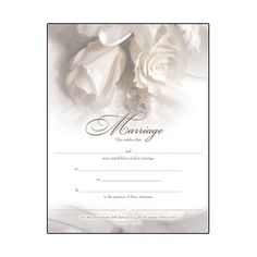Marriage Certificate Gold-Foil Stamped, $2.50 | The Catholic Company