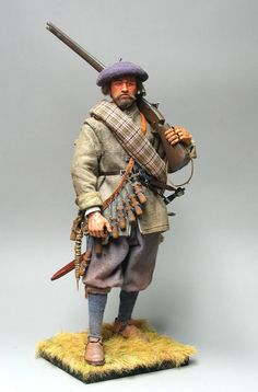 Soldado escocês (Scottish soldier of the English Civil War)