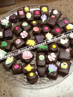 Chocolate covered marshmallows!
