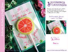 Invitacion con bolsita de semillas