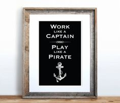 life motto, color, nautical rooms, pirate bathroom, beach houses