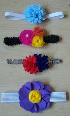 Baby Girl Headbands. :)