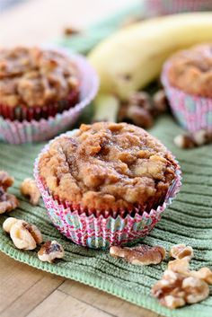 Gluten free banana muffins from eatgood4life.com
