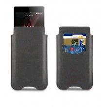 Capa Xperia Z1 Made For Xperia - Pouch Card Nero Preta  16,99 €