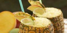 Pineapple-Mango Margaritas. pineapplemango margarita, jalapeno margarita, pineappl jalapeno, martini recip