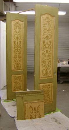 Graines d 39 id portes diy doors on pinterest interior doors manish arora and side panels for Porte interieur design