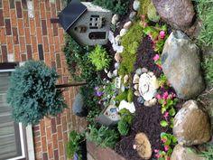 nice miniature garden