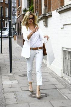 Love all the white. Fresh.