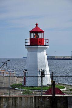 ✮ Saint John Lighthouse - New Brunswick, Canada