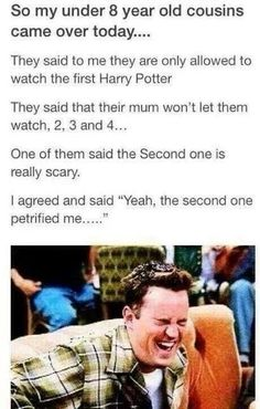 """This joke even adults find funny.   22 """"Harry Potter"""" Puns That Are So Bad They're Good"""