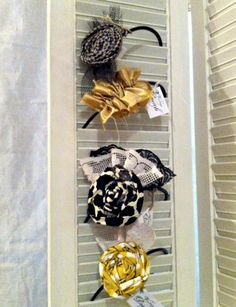 Cute headband display idea.