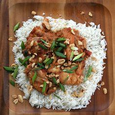 Slow Cooker Peanut Chicken