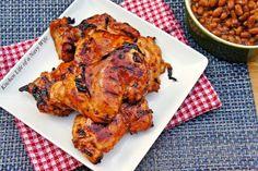 "Grilled Huli Huli Chicken by thelifeofanavywife: Huli means ""turn"" in Hawaiian.  #Chicken #Grilled #Huli_Huli"