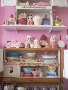 Kitschy cute kitchen