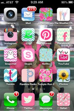 pretty up your phone apps <3