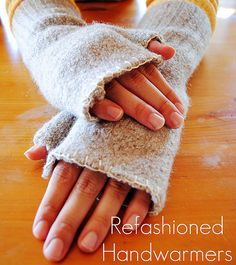 Refashioned hand warmers