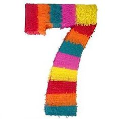 number 7 so colourfull